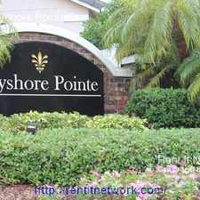 Rental info for 2917 Bayshore Pointe Dr in the Ballast Point area