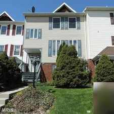 Rental info for Move-in ready townhome in great commuter location.