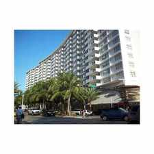 Rental info for 100 Lincoln Road #543