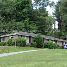 Rental info for Great 1bd 1bth unit in a convenient part of town in the Hickory area