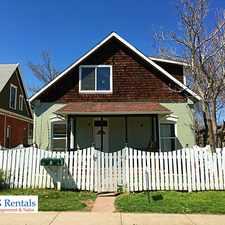 Rental info for 1611 Spruce Street in the Whittier area