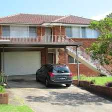 Rental info for For lease- downstairs of double storey house (shared lease with upstairs) in the Sydney area