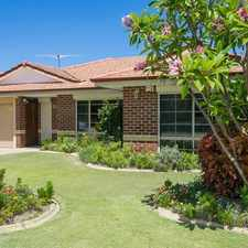 Rental info for Price reduction - VERY SECURE PROPERTY in the Perth area