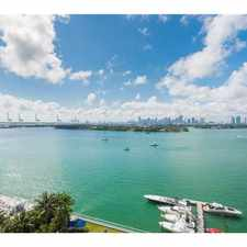 Rental info for 1200 West Ave, #1502 32, Miami-Dade County #1502