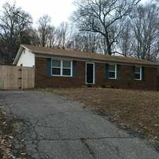Rental info for 3 bedrooms House - Brick front rambler with large eat in kitchen. Single Car Garage!
