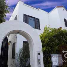 Rental info for Tamarind Ave