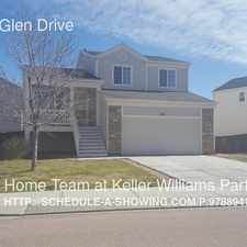 Rental info for 8711 Silver Glen Drive