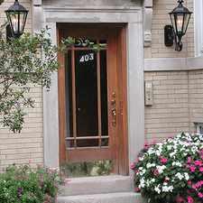 Rental info for 403 Sherman in the Evanston area