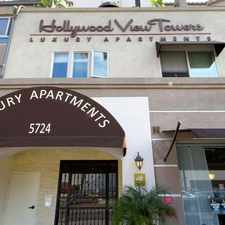 Rental info for Hollywood View Towers in the Hollywood Studio District area