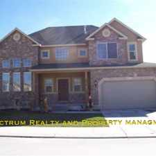 Rental info for 4 BD/ 2.5 BA Home in Eagle Mountain!