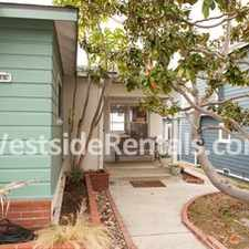 Rental info for FURNISHED BEACH HOUSE in the 90266 area