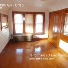 Rental info for 2109 13th Ave in the South Milwaukee area