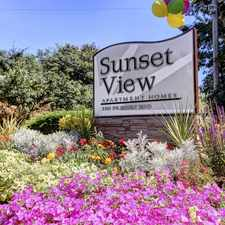 Rental info for Sunset View Apartments