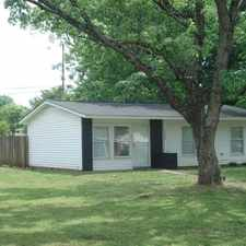 Rental info for 3BR/1BA HOME LOCATED ON A CORNER LOT.