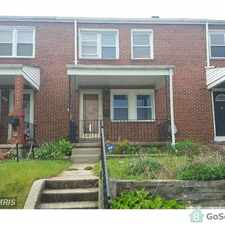 Rental info for 1746 Langport Ave, Baltimore, MD 21222