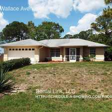 Rental info for 3008 Wallace Avenue
