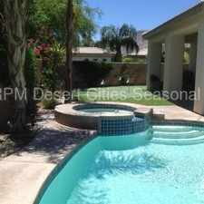 Rental info for Seasonal - Beautiful Cathedral City Pool Home
