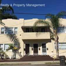 Rental info for 1533 E Florida St in the Long Beach area