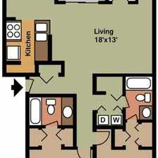 Rental info for Experience a new kind of apartment living. Pet OK!