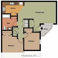Rental info for 2 bedrooms Apartment - Located in a quiet residential area.