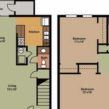 Rental info for 2 bedrooms - Apartments are situated near Crossroads Commons shopping. $654/mo