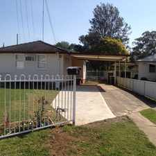 Rental info for MODERN, NEAT AND WELL LOCATED.......................APPLICATION APPROVED in the South Penrith area