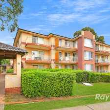 Rental info for WALK TO STATION,SCHOOLS & SHOPS in the Sydney area
