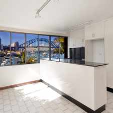 Rental info for Spacious Two Bedroom Apartment with Amazing Sydney Harbour Views....
