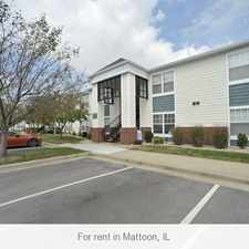 Rental info for 3 bedrooms Apartment - Coles Crossing of Mattoon. Parking Available!