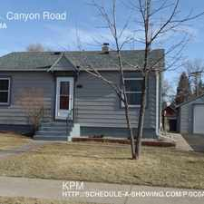 Rental info for 404 S. Canyon Road
