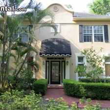 Rental info for Four Bedroom In Hillsborough (Tampa) in the Virginia Park area