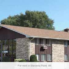 Rental info for Stevens Point - superb Apartment nearby fine dining