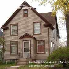 Rental info for 5406 N 37th St in the Old North Milwaukee area