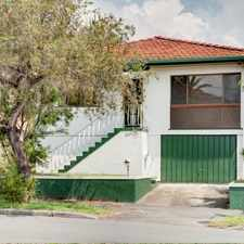 Rental info for THREE BEDROOM HOUSE IN EAST BRISBANE