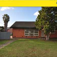 Rental info for 3 bedrooms, BIR, seperate lounge & dine, shed, enclosed yard