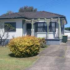 Rental info for NEAT & TIDY 3 BEDROOM HOME in the Albion Park Rail area