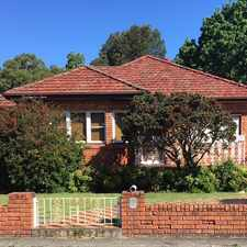 Rental info for Fabulous Family Home In Haberfield in the Five Dock area