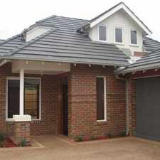 Rental info for FANTASTIC THREE BEDROOM TOWNHOUSE in the Bentleigh East area