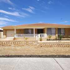 Rental info for LOVELY FAMILY HOME WITH A BELOW GROUND POOL! in the Dianella area
