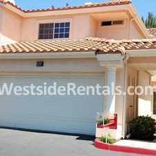 Rental info for 3 Bedroom 2 Bathroom Townhouse in the San Clemente area