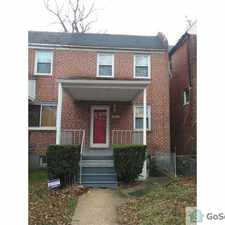 Rental info for Great House in A Great Location! in the Walbrook area