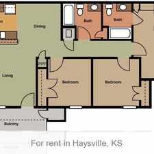 Rental info for Spacious 2 bedroom, 2 bath. $630/mo