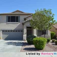 Rental info for 15468 W Mescal St