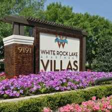 Rental info for White Rock Lake Apartment Villas