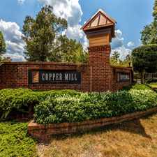 Rental info for Copper Mill Apartments