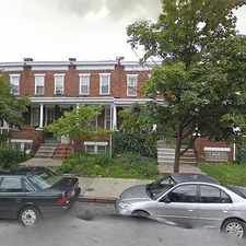 Rental info for Single Family Home Home in Baltimore for For Sale By Owner in the Harwood area