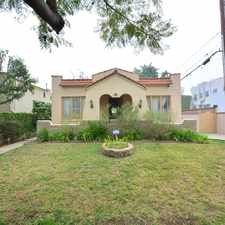 Rental info for 714 North Laurel Avenue in the West Hollywood area