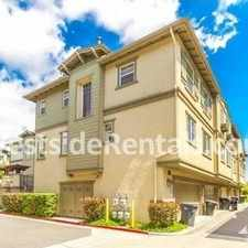 Rental info for 4 bedroom townhouse in the Harbor City area