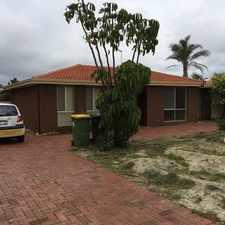 Rental info for 3 x 1 Kelmscott. $300.00 per week