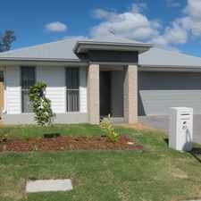 Rental info for BE PART OF A REAL COMMUNITY in the Brookwater area